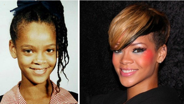 23 stars before the fame will you recognize them afrizap world - Rihanna avant apres ...