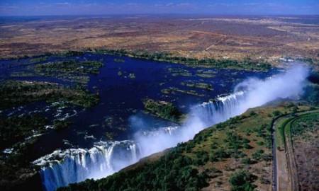 Lieux Afrique victoria falls