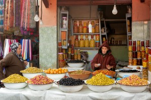 Marrakech_olives_merchant