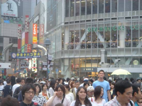 tall crowd
