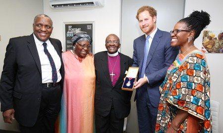 Prince Harry Desmond Tutu