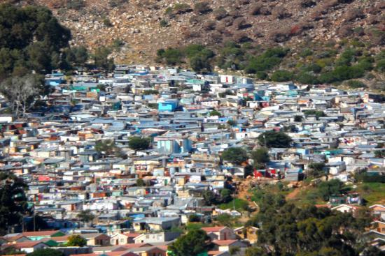 bidonville afrique du sud