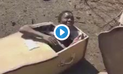 video noir cercueil