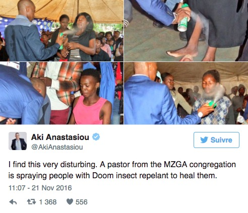 pasteur sud-africain pesticide