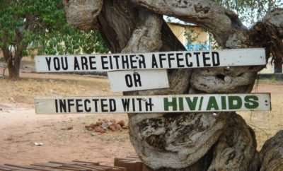 you are either affected or infected with hiv aids
