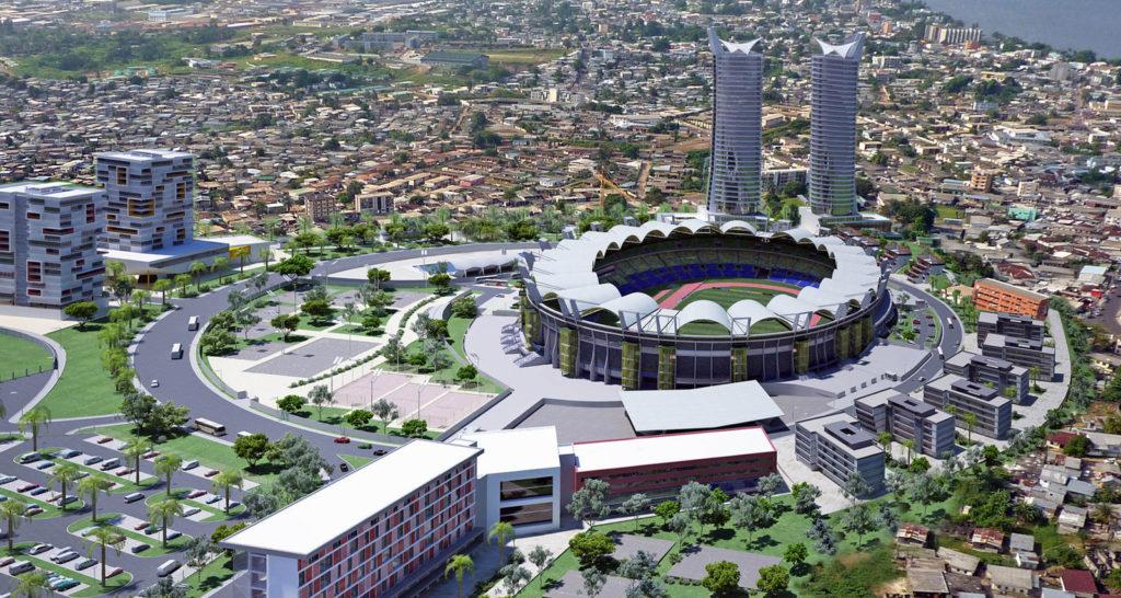 Gabon CAN 2017 Stade de foot