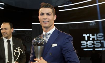 Cristiano Ronaldo Joueur de l'annee FIFA