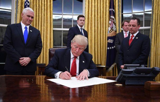 Donald Trump décret