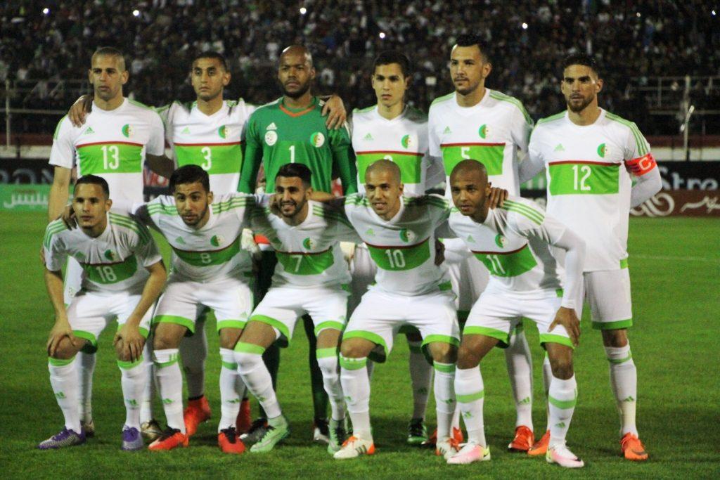 Equipe football Algérie