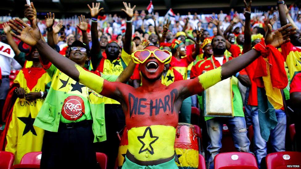 Fan de l'Equipe du Ghana