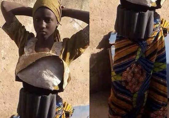 Femme Kamikaze au Nigéria