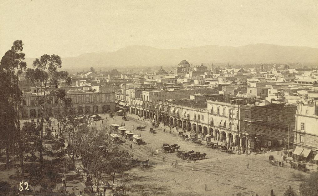 Ville de Mexico autrefois