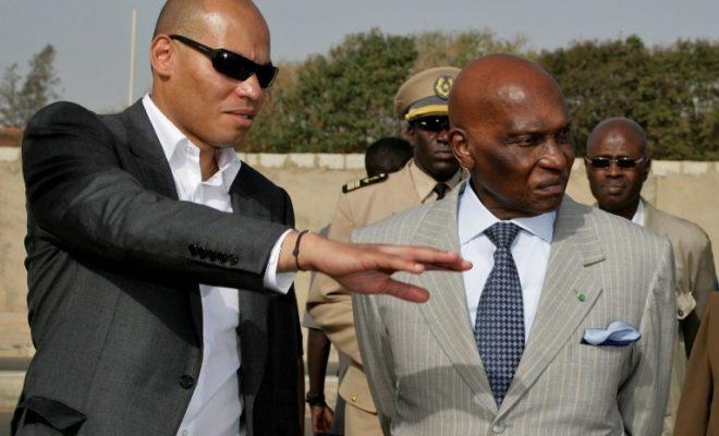 Karim Wade et Abdoulaye Wade