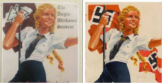 affiches nazis afrique du sud