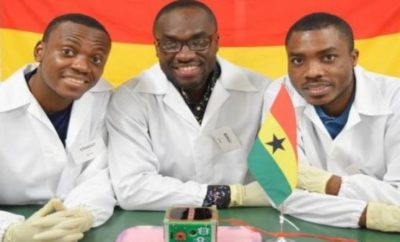 Ghana satellite