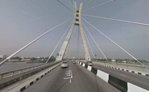Google streetview Nigeria bridge